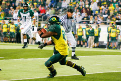 Oregon Ducks Football at Autzen Stadium Stock Photography