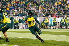 Oregon Ducks Football at Autzen Stadium Royalty Free Stock Photo