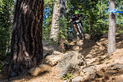 Oregon Enduro #2 - Biegung Stockbilder