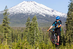 Oregon Enduro #2 - Biegung stockfotos