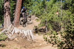 Oregon Enduro #2 - Biegung - Curtis Keene Lizenzfreie Stockfotos
