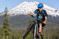 Oregon Enduro #2 - curva Foto de archivo libre de regalías
