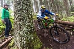 2013 Oregon Enduro - Lars Sternberg Royalty-vrije Stock Afbeeldingen