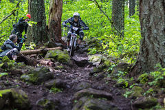 Oregon 2013 Enduro - Marco Osborne Lizenzfreie Stockfotos