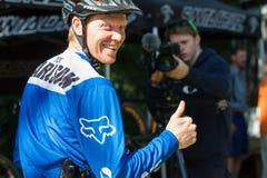 Oregon Enduro Series - Josh Carlson Royalty Free Stock Images