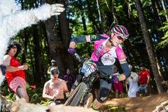 Oregon Enduro Series - Mical Dyke Royalty Free Stock Photo