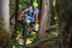 Oregon Enduro Series - Scott Chapin Stock Images