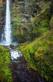 Oregon escénico Waterfallls Imagen de archivo libre de regalías