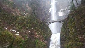 Oregon härlig vattenfall royaltyfri bild
