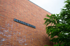 Oregon Hall Building Royalty Free Stock Photo