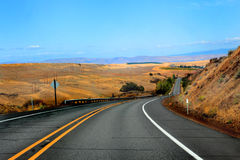 Oregon Highway Royalty Free Stock Images