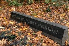Oregon-Holocaust-Denkmal stockfotos