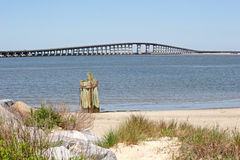 Oregon inlet Bridge Stock Image