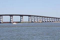 Oregon Inlet bridge Royalty Free Stock Photos