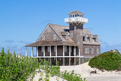 Oregon Inlet Life Saving Station Royalty Free Stock Image