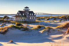 Oregon Inlet Lifesaving Station North Carolina Stock Photo