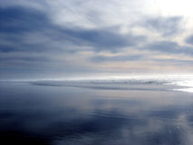 Oregon-Küste-@ Dämmerung Stockbilder