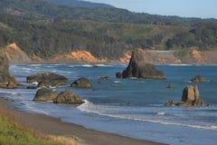 Oregon-Küste-Datenbahn Stockfotos