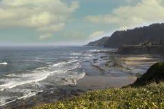 Oregon-Küstenlinie Lizenzfreies Stockfoto