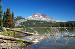 Oregon-Kaskaden Lizenzfreies Stockbild