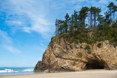 Oregon kust Arkivfoto