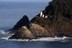 Oregon Lighthouse. Royalty Free Stock Photography
