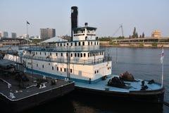 Oregon maritimt museum i Portland royaltyfri fotografi