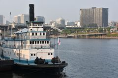 Oregon maritimt museum i Portland royaltyfria foton