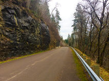 Oregon Mountain Road Royalty Free Stock Photo