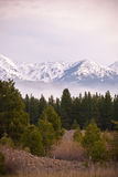 Oregon mountains royalty free stock photo