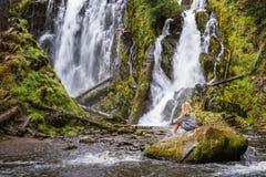 Oregon naturliga skönhet Arkivfoto