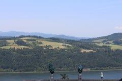 Oregon overlook Vista House Stock Photos