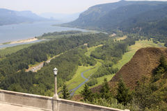 Oregon overlook Vista House Royalty Free Stock Photos