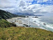 Oregon pacific beach Stock Photography
