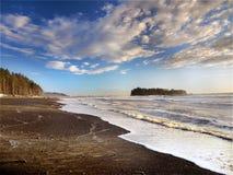 Oregon Pacific Coast, Beach Pacific Ocean, USA stock photography