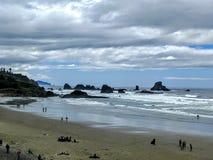 Oregon Pacific coast Stock Photo