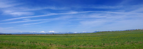 Oregon panorama Royalty Free Stock Images