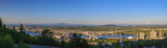oregon panorama Portland Obrazy Stock