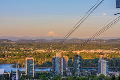 oregon panorama Portland Obraz Royalty Free