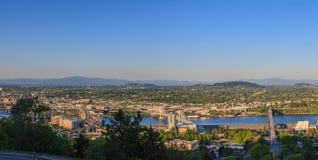 oregon panorama Portland Zdjęcie Stock