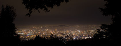 oregon panoramaporland Arkivbilder
