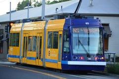 Oregon Portland tramwaj Zdjęcia Royalty Free