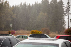 Oregon Rain Storm Weather Stock Images