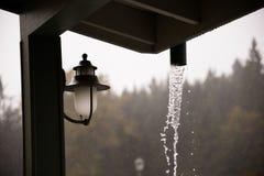 Oregon Rain Storm Weather Royalty Free Stock Photo