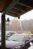 Oregon Rain Storm Weather Stock Photo