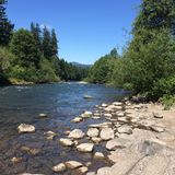 Oregon Rivers Stock Image