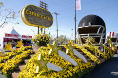Oregon Rose Parade float Stock Photos