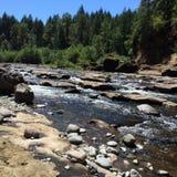 Oregon rzeki zdjęcie stock