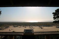 Oregon sand dunes Stock Photos