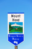 Oregon Scenic Byway Royalty Free Stock Images